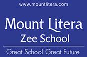 Mount Litera zee school logo